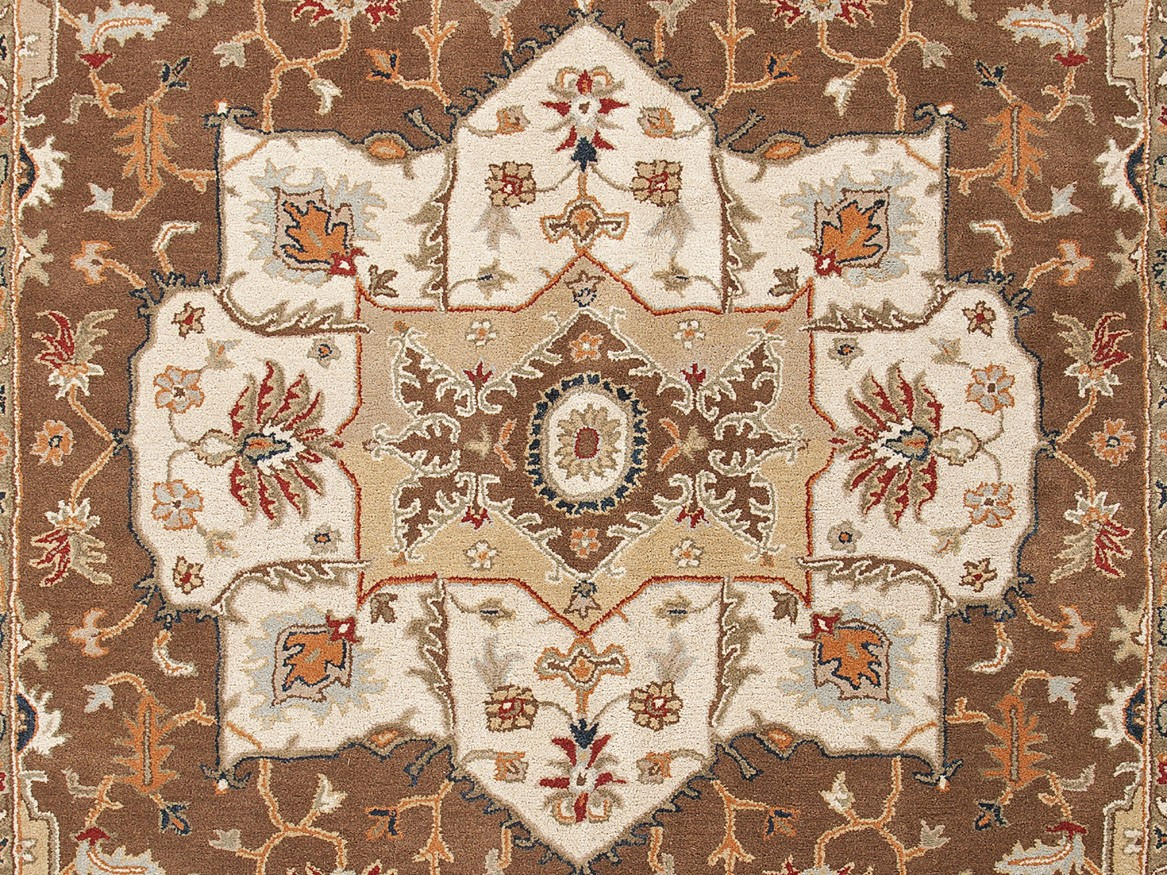 Jaipur Poeme Chaumont PM49 Indian Brown Area Rug