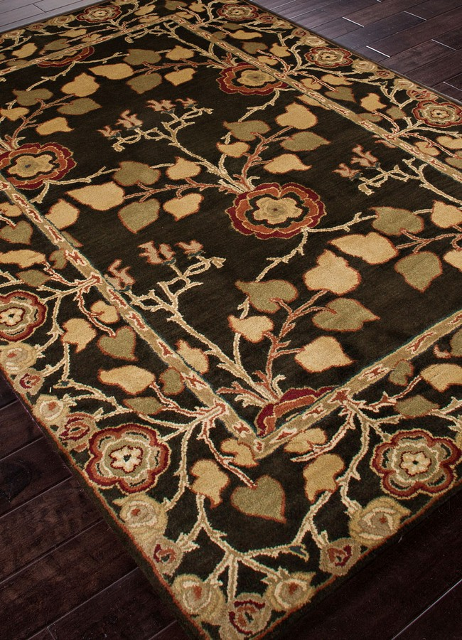 Jaipur Poeme Rodez PM58 Deep Charcoal Area Rug