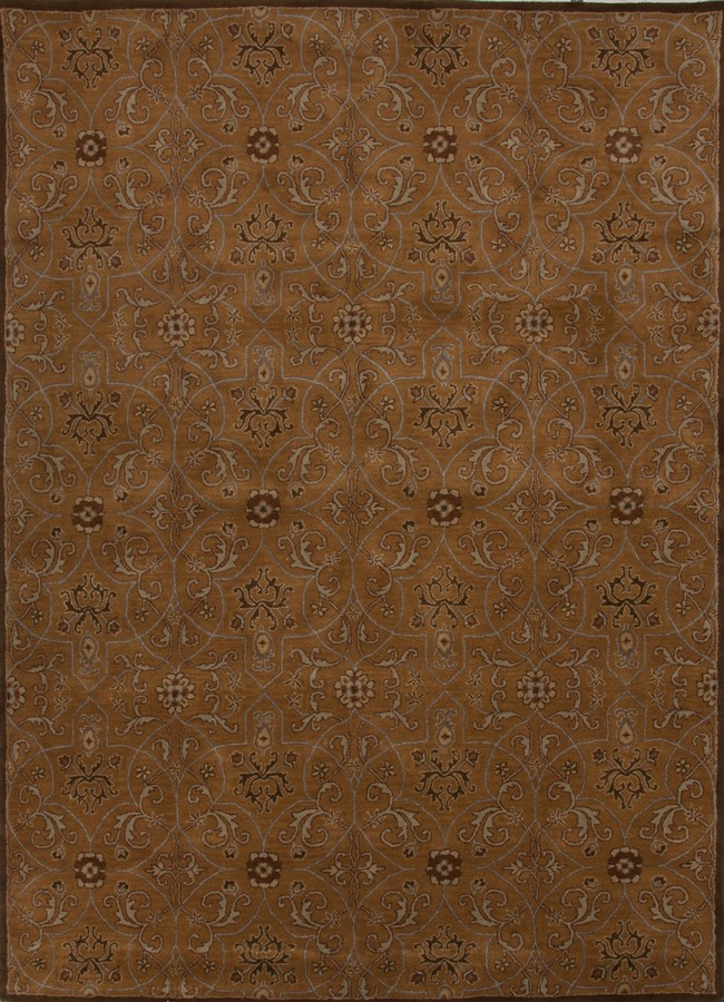 Jaipur Poeme Calais PM85 Dark Amber Gold Area Rug
