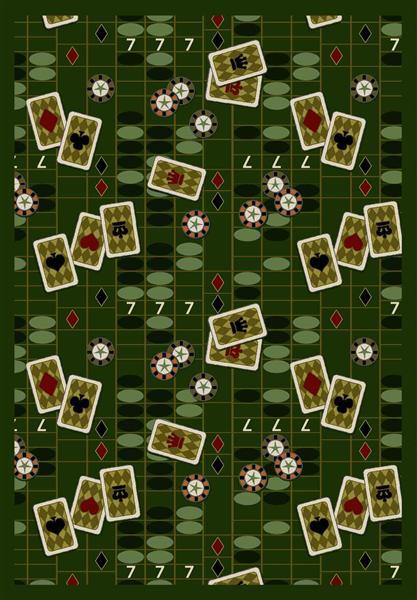 Joy Carpet Feeling Lucky - Emerald