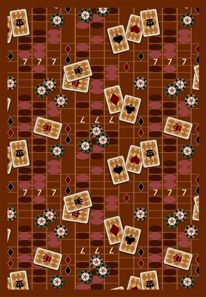 Joy Carpet Feeling Lucky - Rust