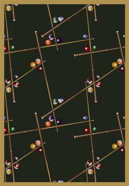 Joy Carpet Snookered - Emerald