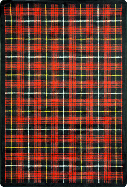 Joy Carpet Bit O Scotch - Lumberjack Red