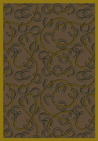 Joy Carpet Rodeo - Dark Rust