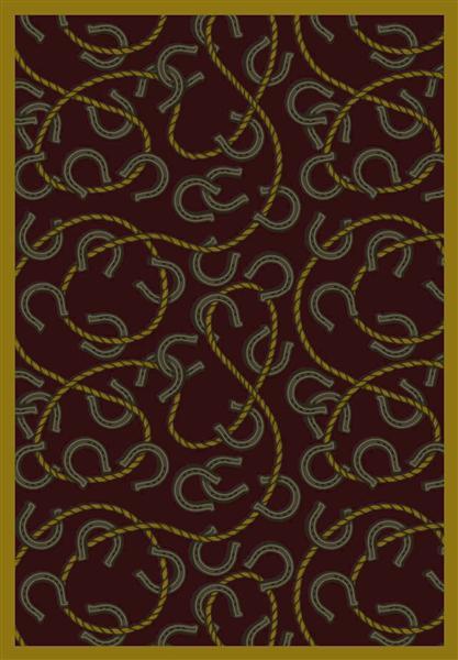 Joy Carpet Rodeo - Burgandy