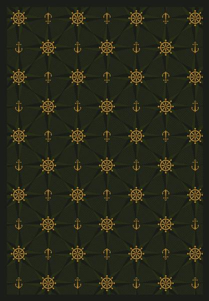 Joy Carpet Mariner's Tale - Emerald