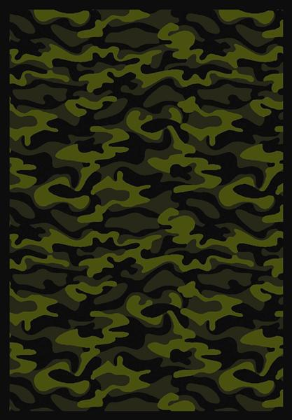 Joy Carpet Funky Camo - Green