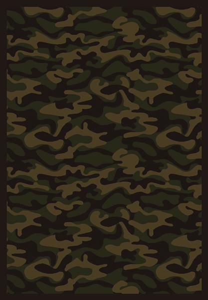 Joy Carpet Funky Camo - Dark Army