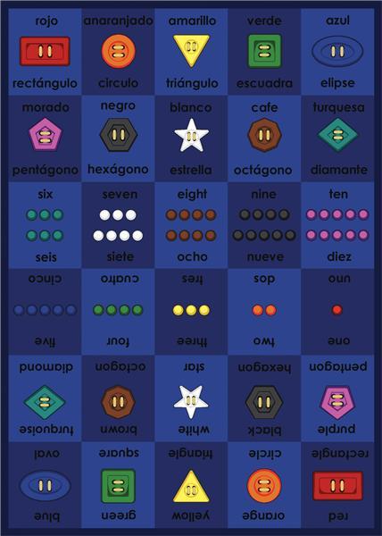Joy Carpet Button-Button - Spanish/English 1561-01