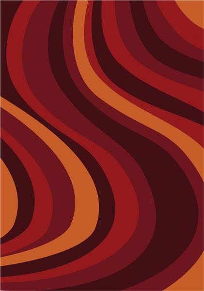 Joy Carpet On the Curve - Red