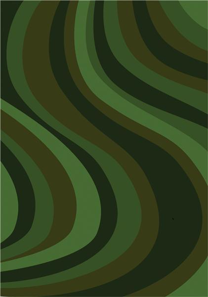 Joy Carpet On the Curve - Green