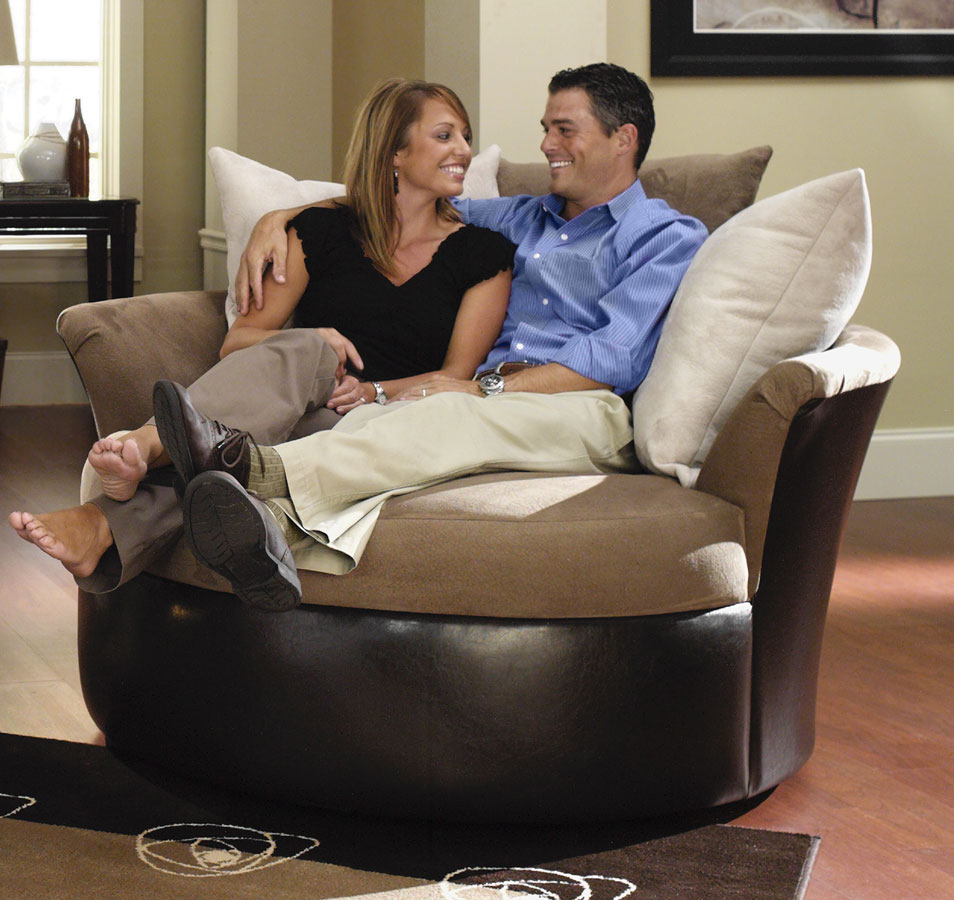 Jackson Sonoma Cuddler Swivel Chair   Furniture