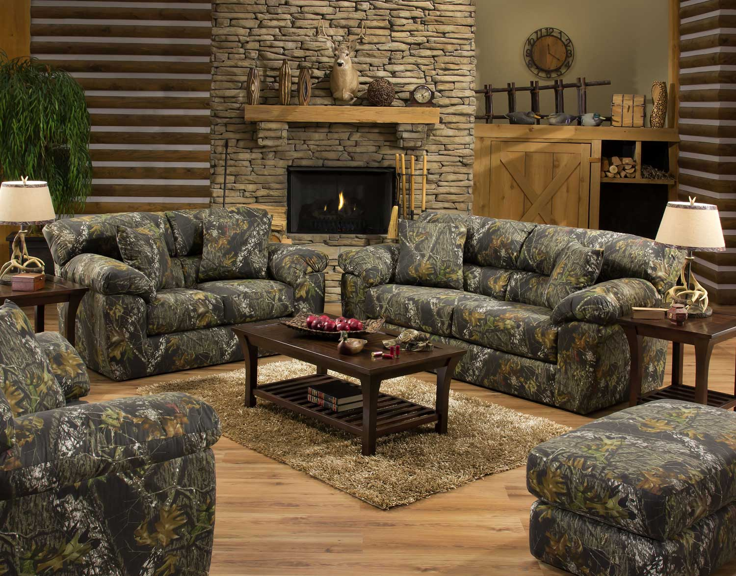 Oak Living Room Furniture Sets