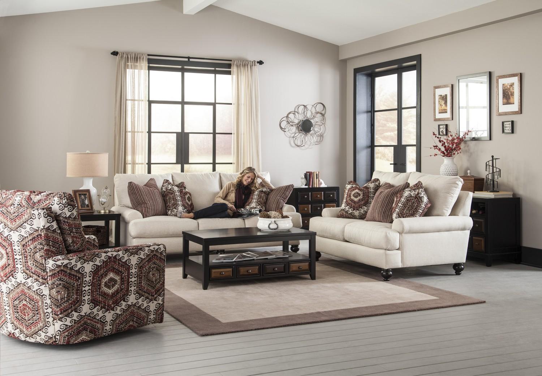 Jackson Westchester Sofa Set - Chilipepper
