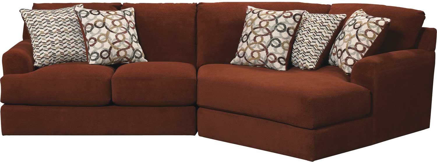 Jackson Malibu Sectional Sofa Set Adobe Jf 3239 Sect Set