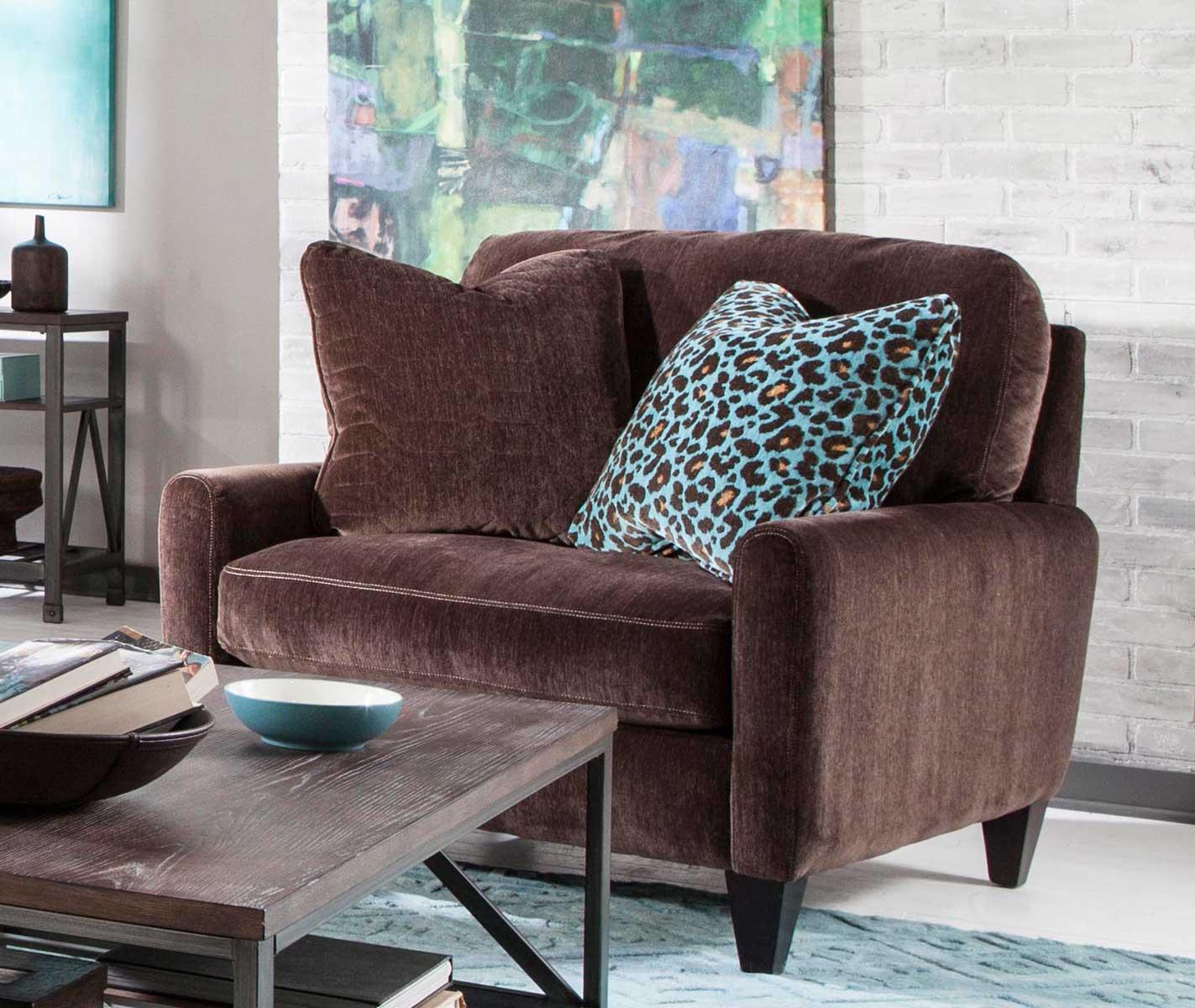 Jackson Mulholland Chair - Chocolate