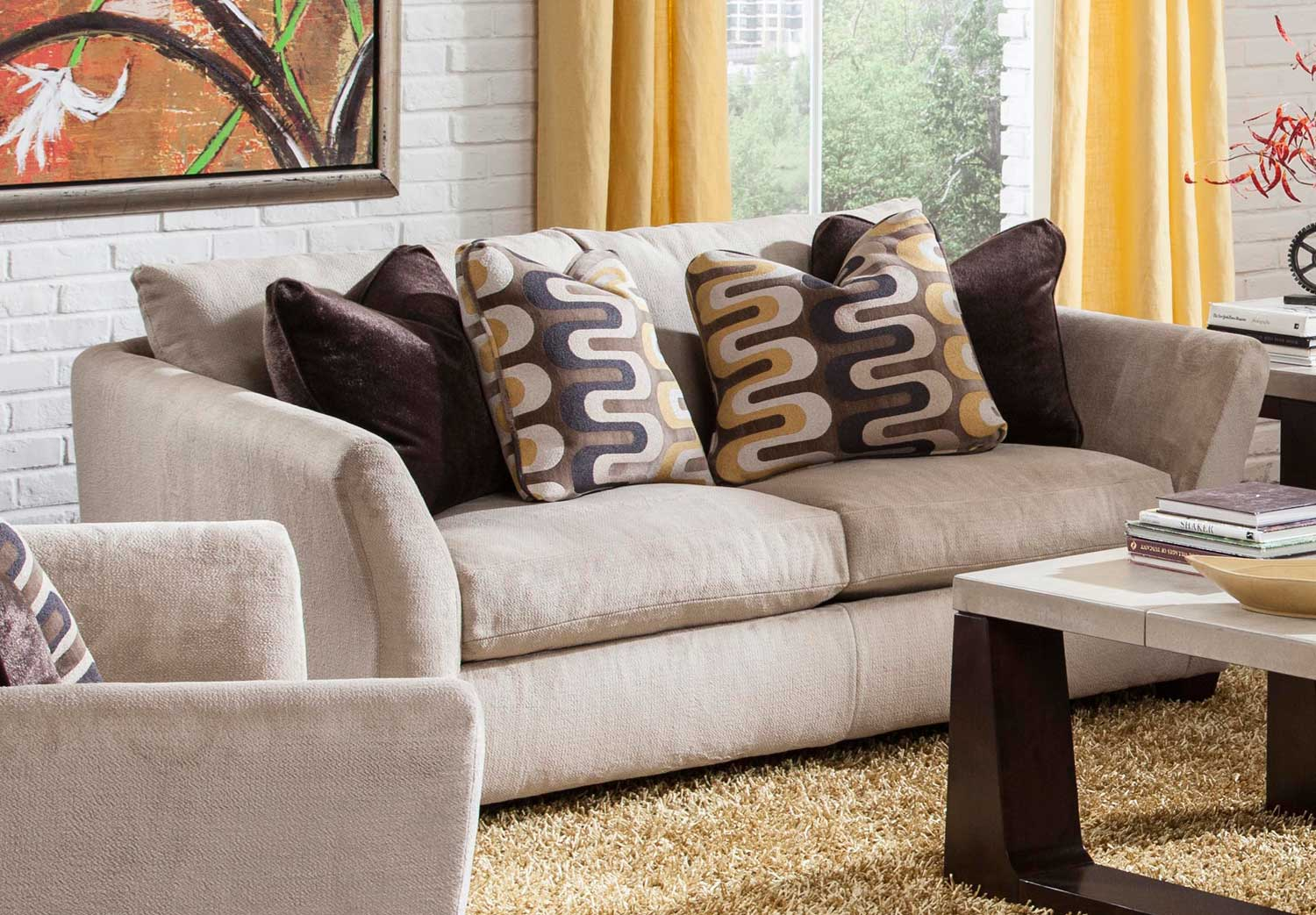 Jackson Brighton Loveseat - Foam