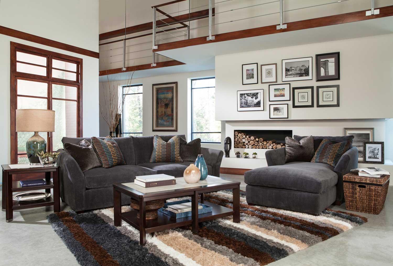 Jackson Brighton Sofa Set   Graphite