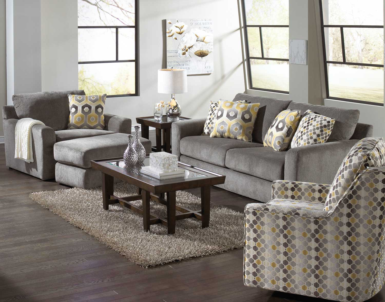 Jackson Sutton Sofa Set - Cobblestone