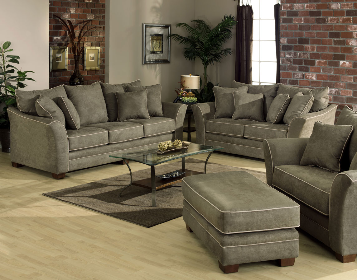 Jackson Bentley Sofa Set Sage Furniture Jf Bentley Set