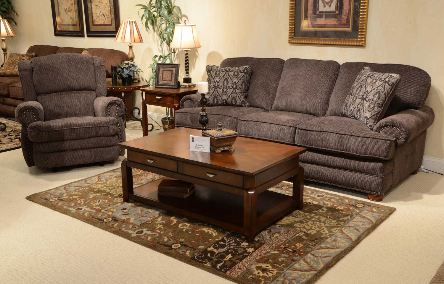 Jackson Braddock Sofa Set Metal Jf 4238 Sofa Set Metal