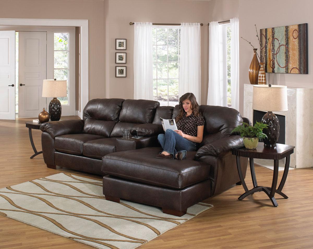 Jackson Lawson Sectional Sofa Set C - Godiva