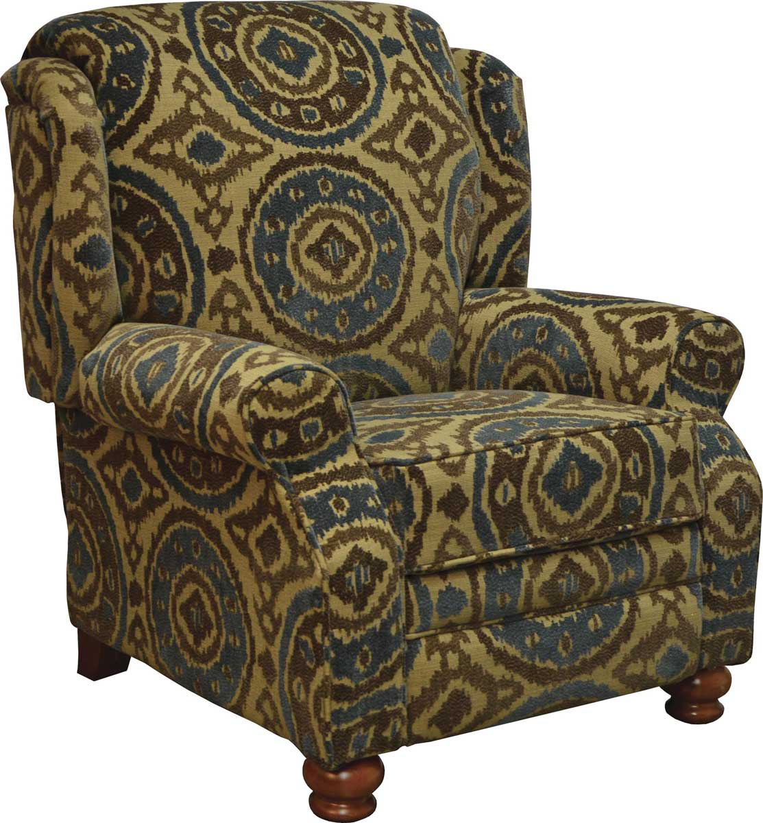 Jackson Belmont Reclining Chair - Peacock