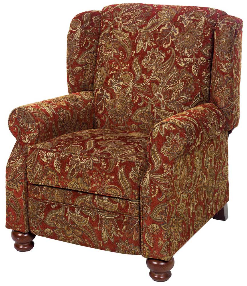 Jackson Belmont Reclining Chair Red 4347 11 Homelement Com