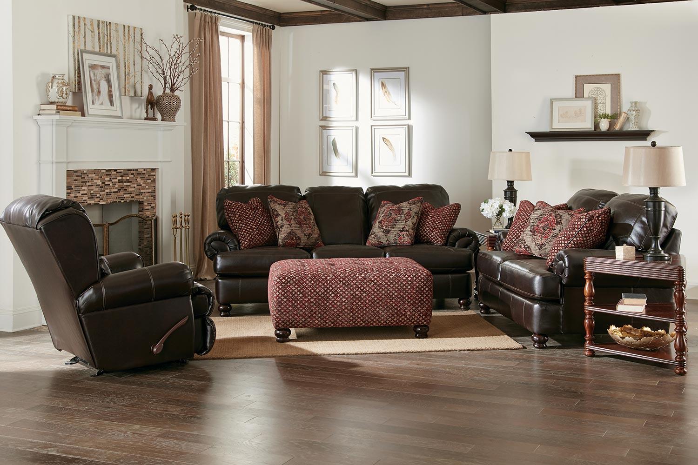 Jackson Southport Sofa Set Espresso