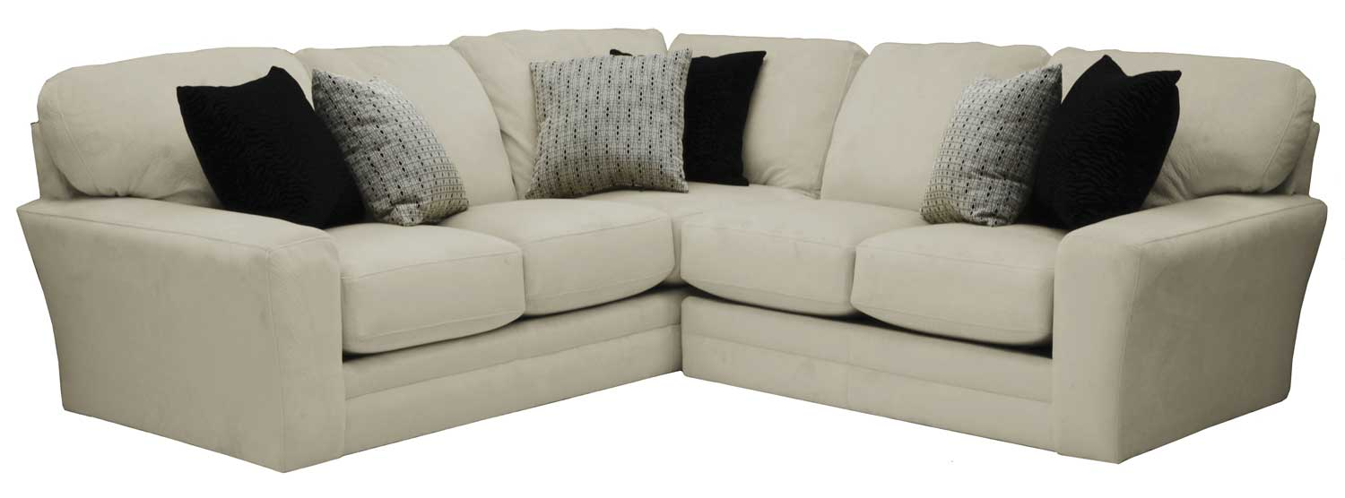 genuine italian sectional ivory leather top grain apolo esf left lhc products furniture sofa