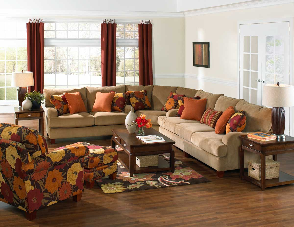 Jackson Hartwell Sectional - Nugget JF-4379-Sect at ...