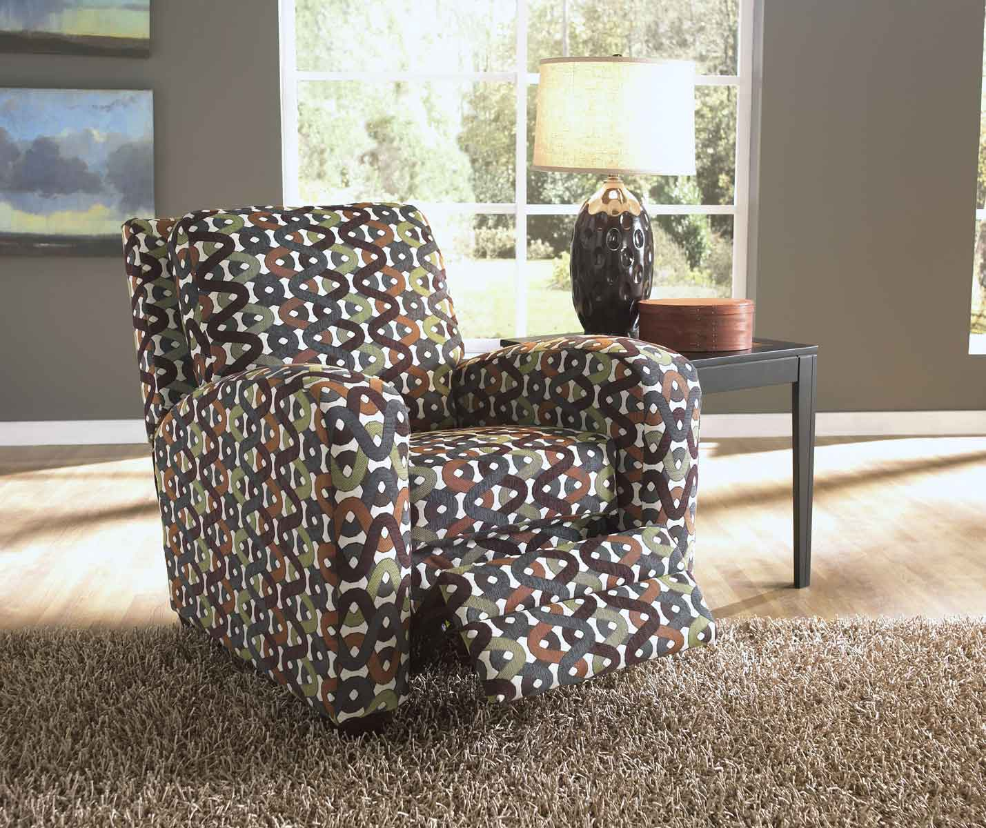 Perfect Halle Reclining Chair   Gemstone