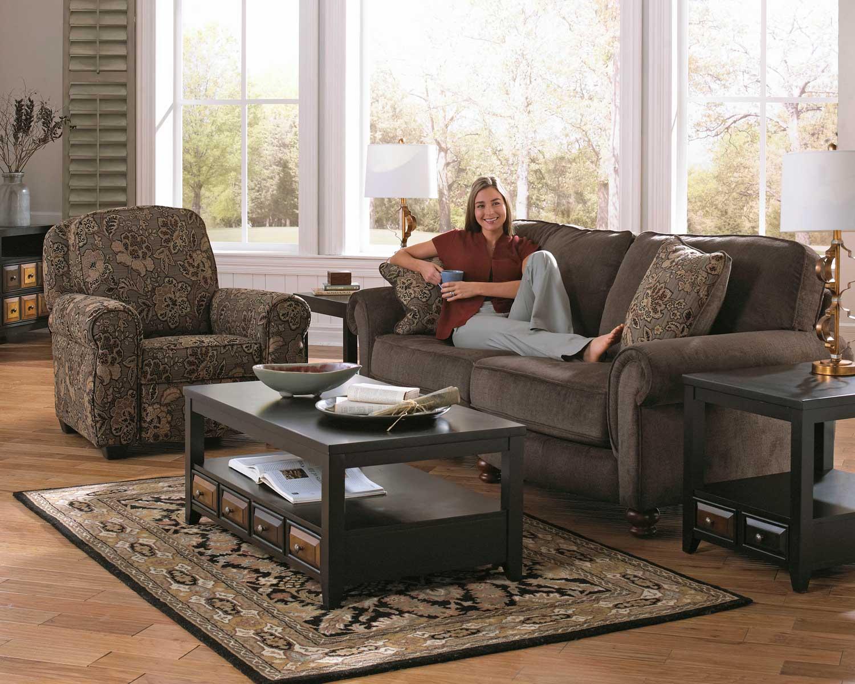 Jackson Downing Sofa Set   Charcoal