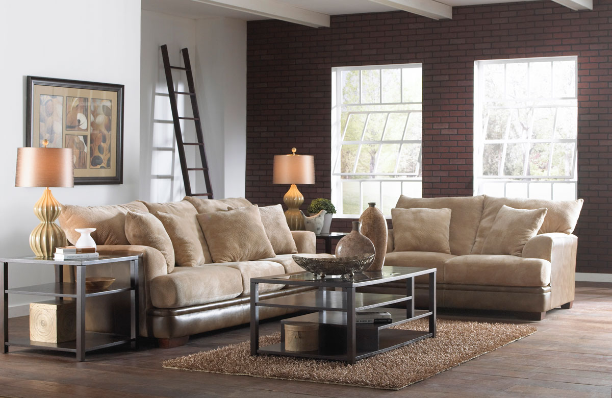Jackson Barkley Sofa Set - Toast