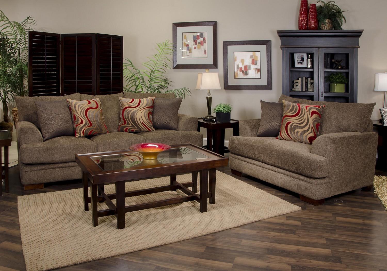 Jackson Crompton Sofa Set Bark Jf 4462 Set Bark At