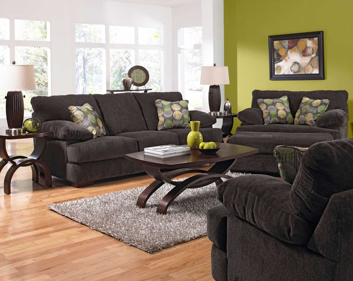 Lovable Jackson Sofa Set Armstrong Sofa Set Graphite Product Photo