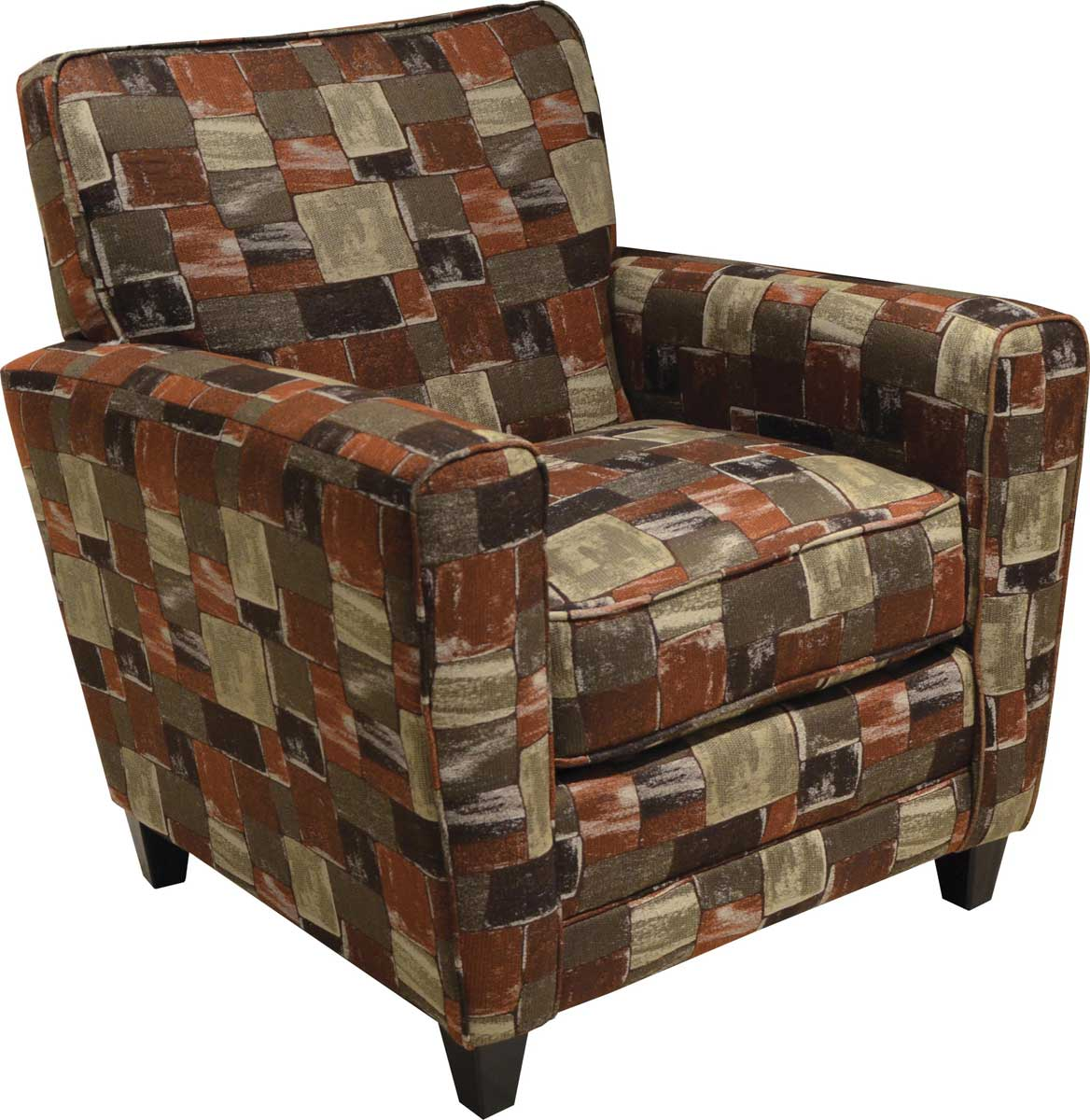 Jackson Coronado Accent Chair - Correlating Cinnabar Color