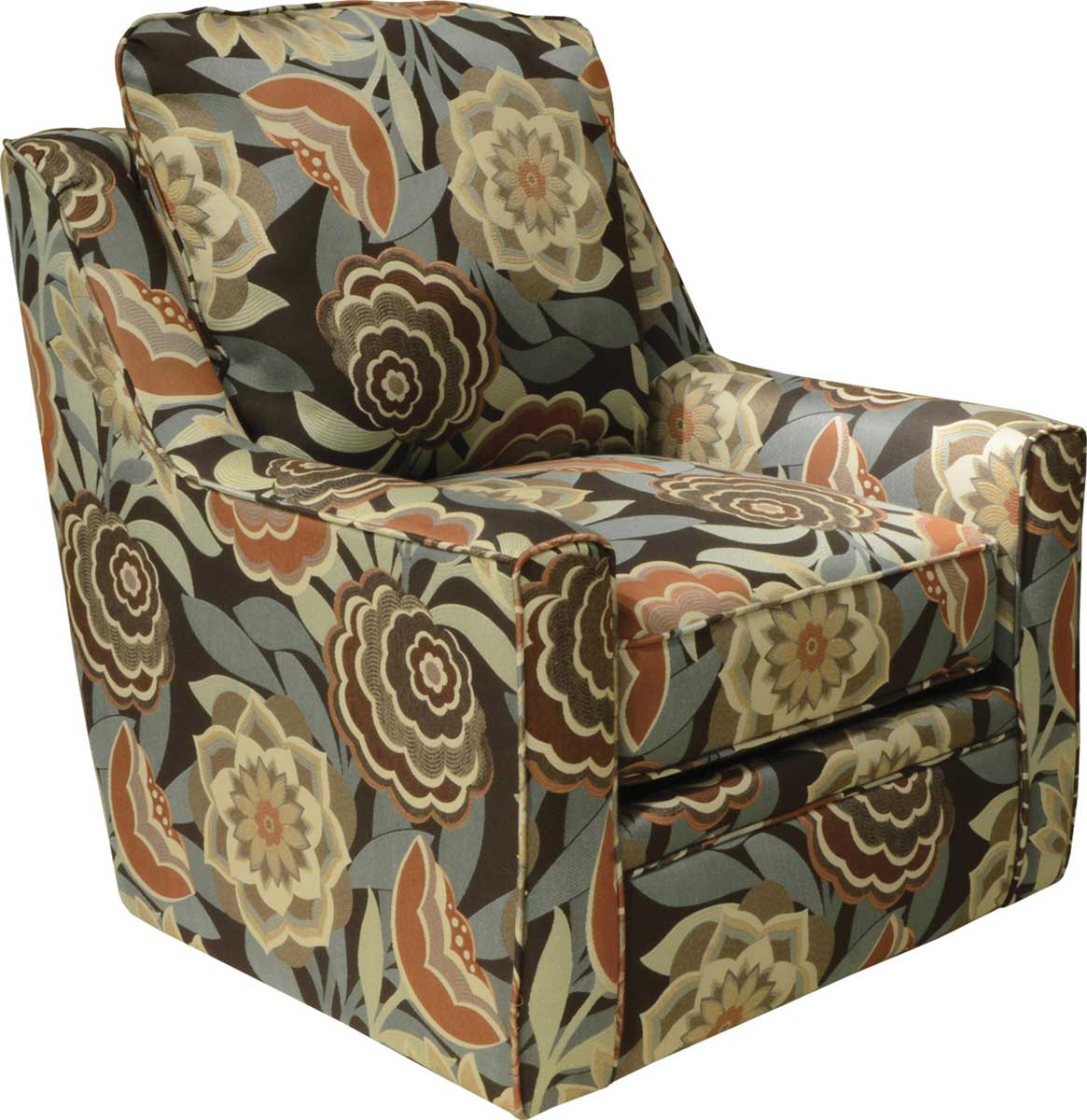 Jackson Sutton Swivel Chair - Correlate Spice