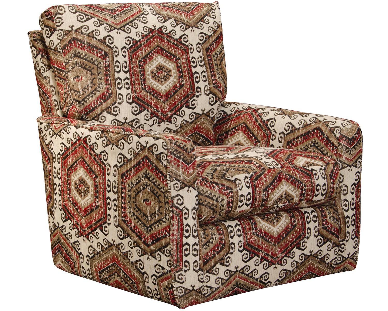 Jackson Westchester Accent Swivel Chair - Hemp