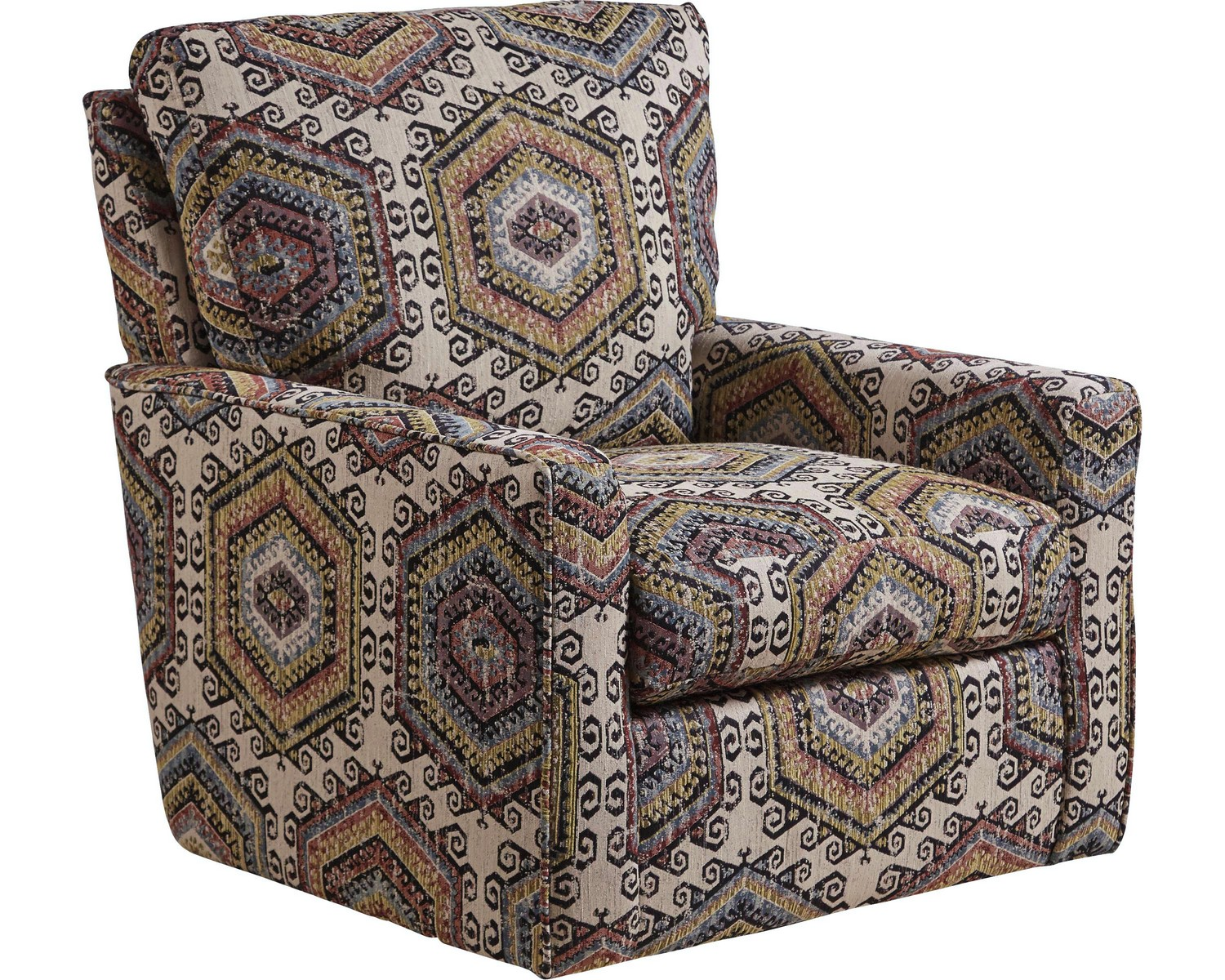 Jackson Westchester Accent Swivel Chair - Hemp