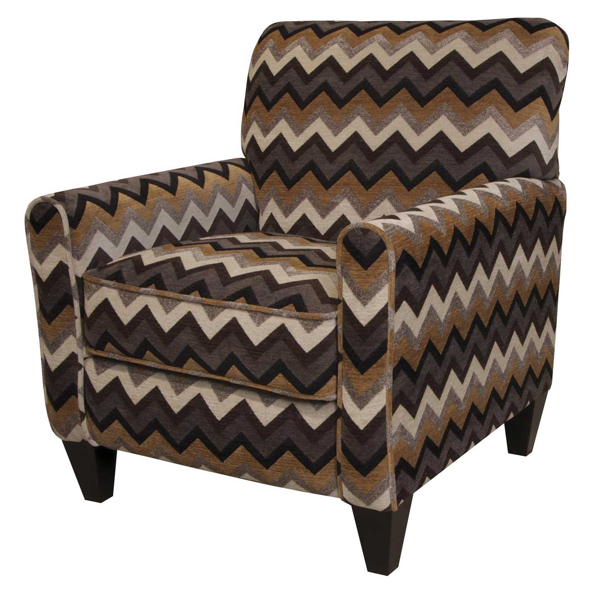 Jackson Zachary Accent Chair - Tobacco