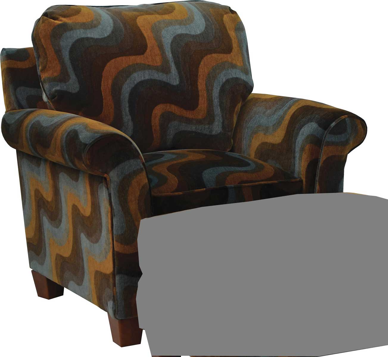 Jackson Hartwell Accent Chair - correlate Azure