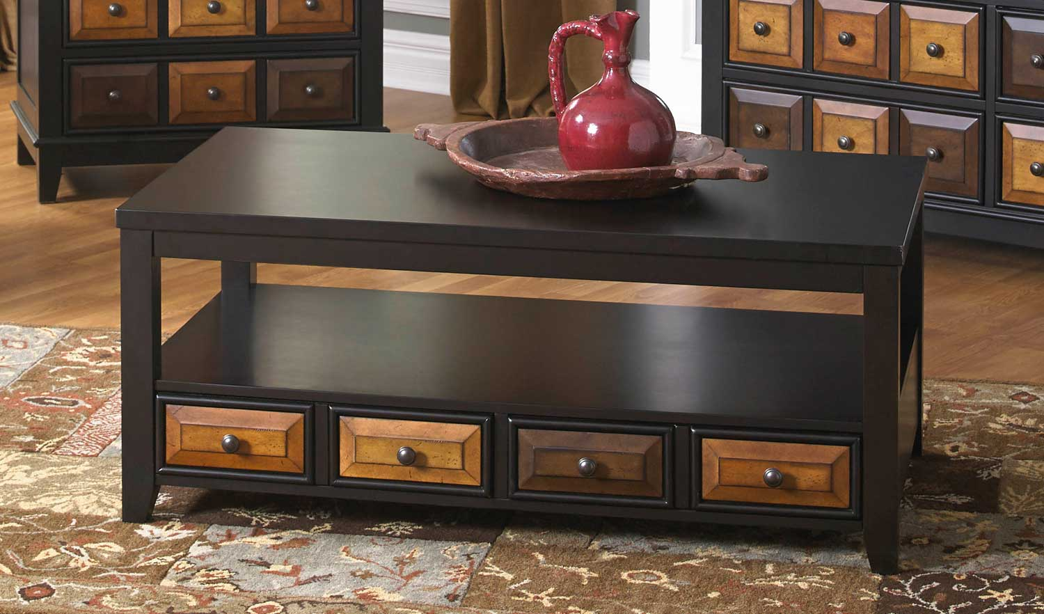 Jackson 857 Series Cocktail Table with Apothecary Drawer