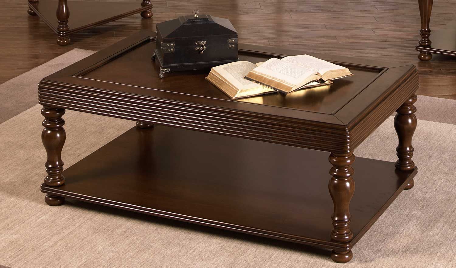 Jackson 859 Series Tray Top Traditional Cocktail Table