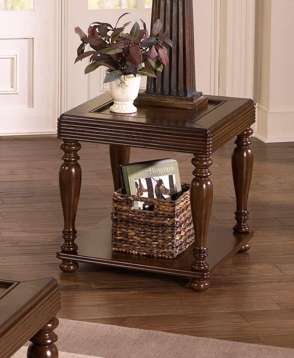 Jackson 859 Series Tray Top Traditional End Table