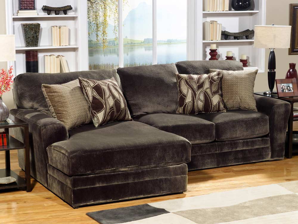 Jackson Everest Customizable Sectional Sofa Set A - Chocolate