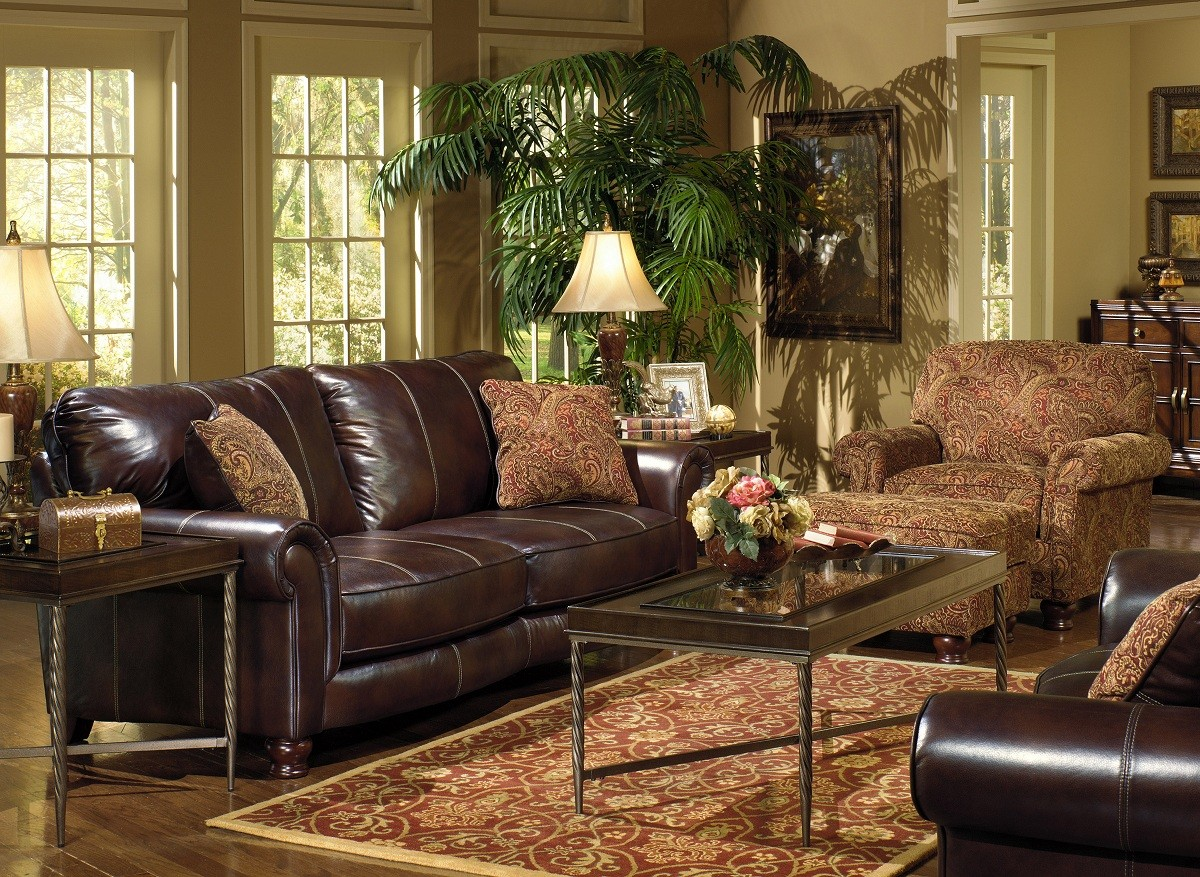 Tasteful Jackson Oxford Sofa Set Furniture Product Photo