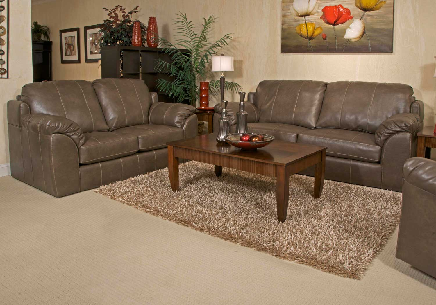 Jackson Sullivan Sofa Set Smoke Jf 3188 Sofa Set Smoke