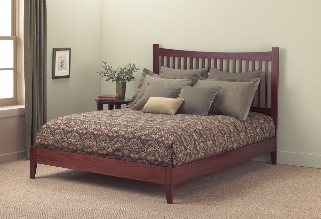 Fashion Bed Group Jakarta Bed in Mahogany