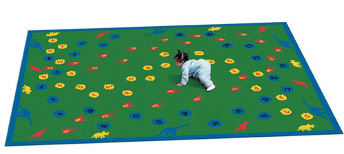 Joy Carpet Dinosaur Walk Rug